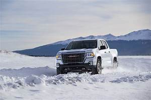 2021 Gmc Canyon Gets Off
