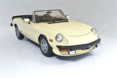 1982 Alfa Romeo Spider Veloce Convertible