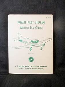 Private Pilot U0026 39 S Airplane Written Test Guide  1979 Plane