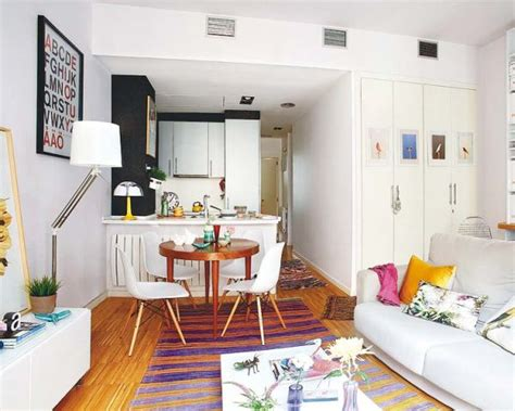 Tiny Apartments : Cozy Tiny Apartment In Madrid With A Youthful And Chic