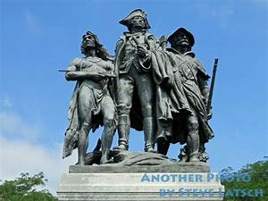 The Battle of Fallen Timbers Monument is located along US ...