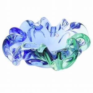 Murano Sommerso Centerpiece Bowl Unique Glass Vases