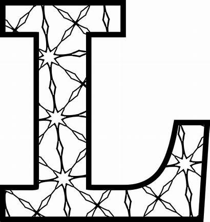 Letters Alphabet Printable Pattern Letter Coloring Alfabeto