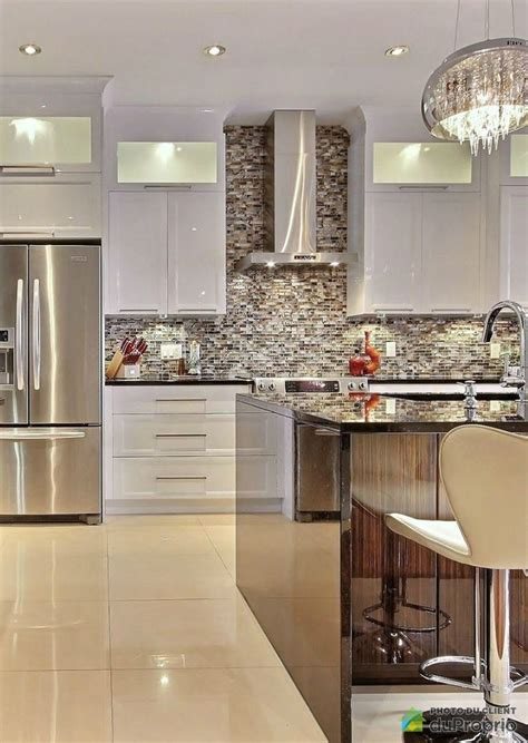 cuisine luxueuse belle cuisine contemporaine avec de