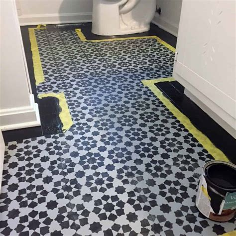 How to Paint Vinyl Floors: The Budget Friendly Way to