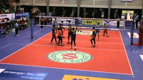 proliga indonesia  set  samator  electric youtube