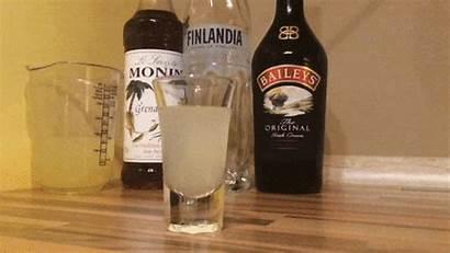 Monkey Brain Cream Irish Cocktail Recipe Straw
