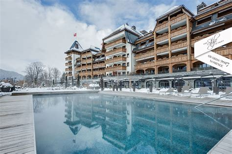 Luxury Spa Hotel In Gstaad