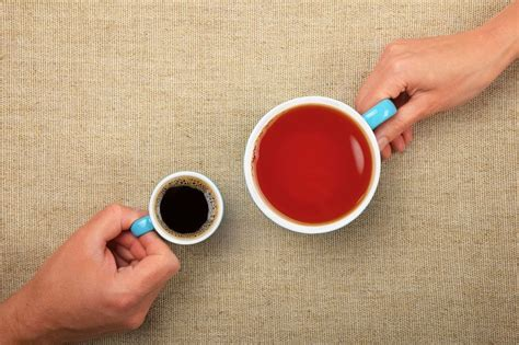 Recall the profiles of coffee vs. Tea Vs. Coffee: It's The Ultimate Smackdown | Tea, How to stay healthy, Coffee