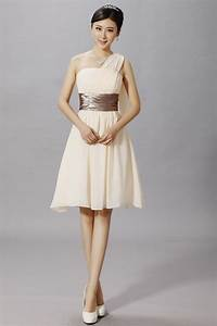 ivory short bridesmaid dress beige a line princess straps With short beige wedding dresses