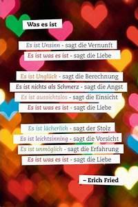 Poster Mit Sprüchen : was es ist liebe zitat poster ~ Markanthonyermac.com Haus und Dekorationen
