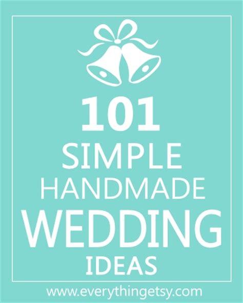 inexpensive wedding programs 101 simple handmade wedding ideas