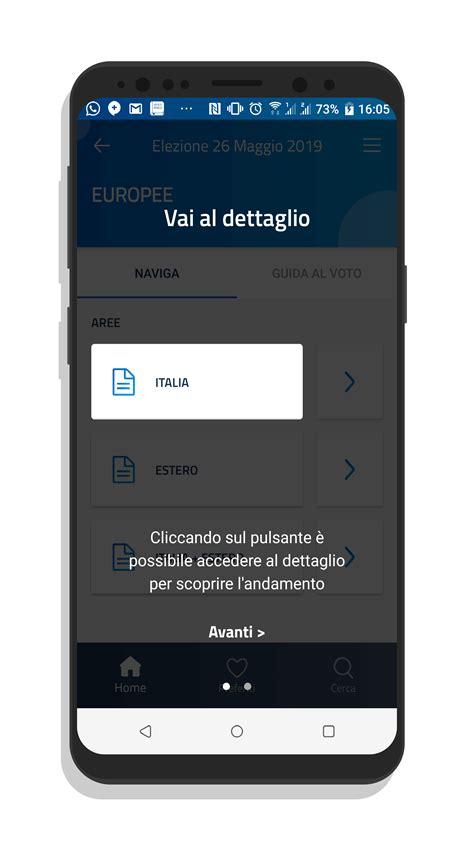 Elezioni Interni by Eligendo Mobile 232 L App Per Seguire I Risultati Delle