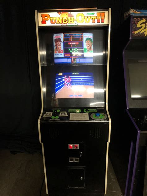 Punch Out 1983 Boxing Arcade Game By Nintendo