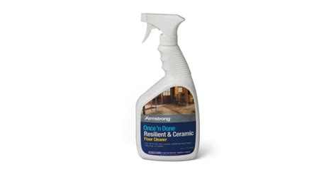 armstrong    resilient ceramic floor cleaner