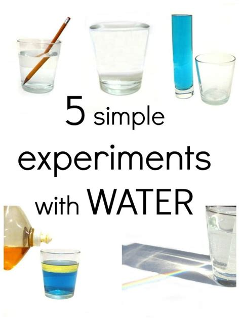 5 simple experiments with water for science fair 279 | c3611ba83472871a9445f3e5ca60349d