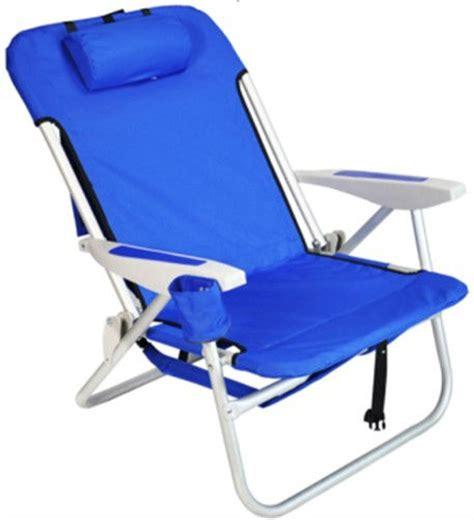 chaise pliante de plage heavy duty sac à dos pliage chaise de plage avec rembourré