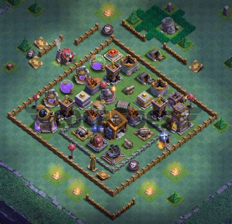builder hall  base   anti  stars