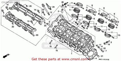 list headl cbr honda cbr900rr fireblade 1995 s england cylinder head schematic partsfiche