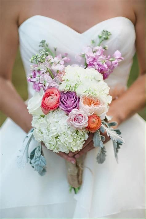 flower moxie diy bridal bouquet white hydrangea and pink ranunculus lavender stock