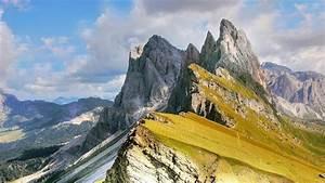 Dolomites, Val, Gardena, Italy, Wallpaper