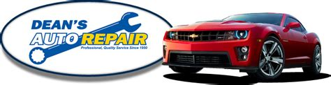 deans auto repair  specials coupons