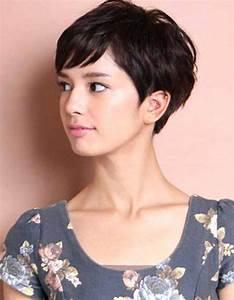 Coupe Cheveux Gris Femme 60 Ans : incroyable coupe cheveu court femme coupe cheveux court ~ Voncanada.com Idées de Décoration