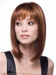 Trendy Medium Length Hairstyles for Round Faces – PICTURES ...