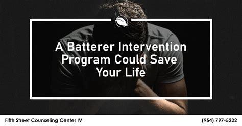 benefits  goals  batterer intervention programs