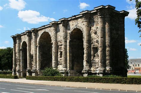 porte de mars reims arch 233 ologie l antiquit 233 gallo romaine 224 reims inrap