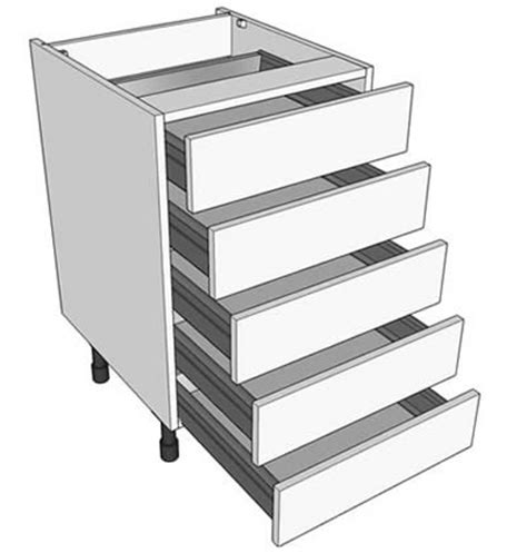 kitchen drawers vs cabinets highline vs drawerline kitchen base units diy kitchens 4735