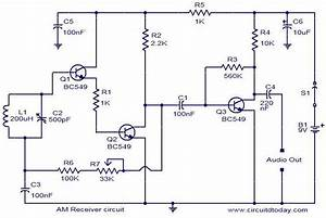 Am Radio Receiver Pcb Diagram And Design