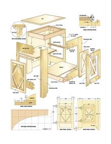 plans for kitchen cabinets plansdownload