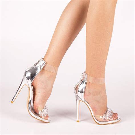 Sandale dama Malina argintii - Colectie Noua - La Reducere ...
