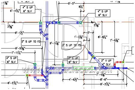 Plumbing Floor Plan Drawing