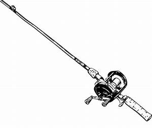Fishing Pole Designed For Marlin Coloring Pages Download