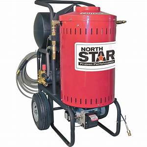 Northstar Electric Wet Steam  U0026 Hot Water Pressure Washer