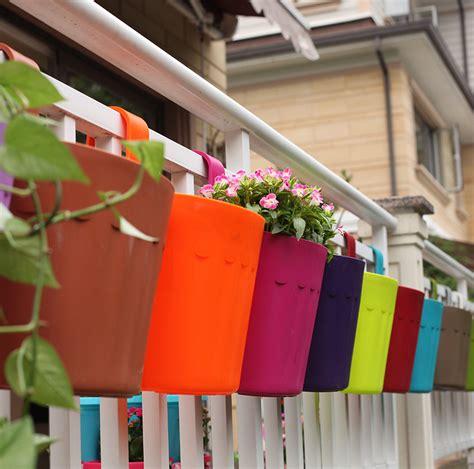 rail hanging planters planters marvellous railing planter boxes railing