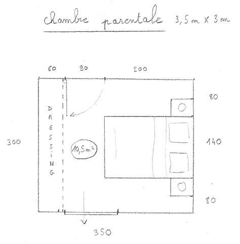 plan chambre parentale dessiner des plans fonctionnels conseils thermiques