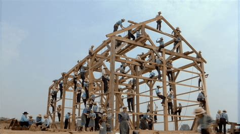 Amish Barn Raising by Amish Community Secrets Come To Light