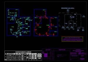 70 M2 House Electrical Plan Dwg Plan For Autocad  U2013 Designs Cad