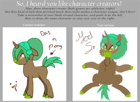 Meme Character Creator - character creator meme by i i shadow on deviantart