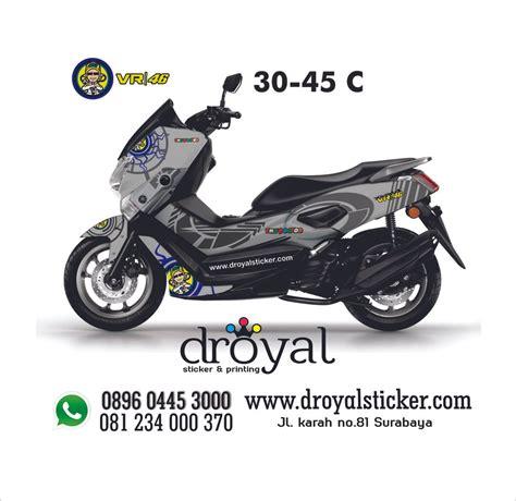 Striping Nmax Putih Minimalis by Jual Decal Nmax Putih Vr 46 30 45c D Sticker