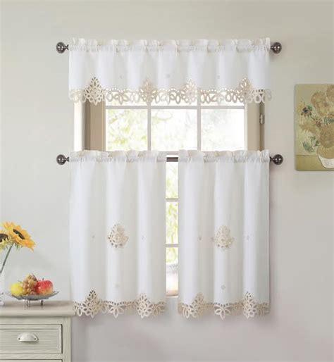 white kitchen curtains at s st maarten curtains