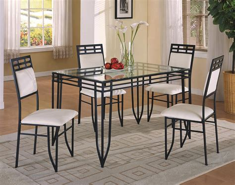 Dinette Table And Chairs by Crown Matrix 5 Dinette Table And Side Chairs
