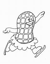 Peanut Coloring Butter Drawing Getdrawings Jar Ice Skating sketch template