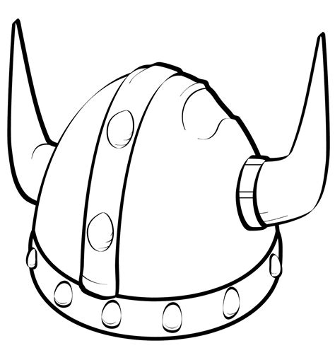 viking coloring pages helmet printable shelter