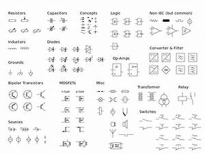 File Electrical Symbols Iec Svg