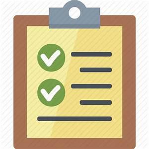 Check mark, checklist, clipboard, to do list icon | Icon ...
