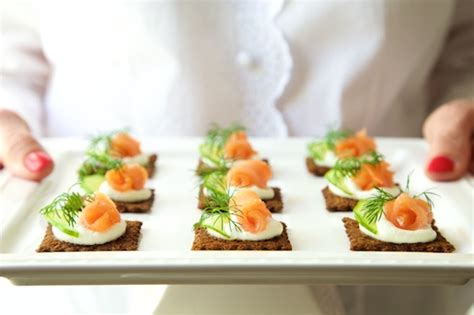 mousse canapé goat cheese mousse and smoked salmon canapés the